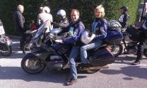 gli angeli custodi del nostro moto club ponte di bassano alla milano t