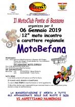 12° Edizione Motobefana 2019