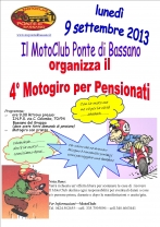 4° Raduno MotoPensionati 2013