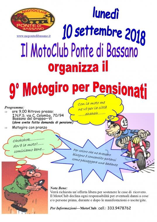 9° Edizione motopensionati 2018