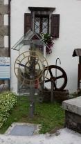 orologio ad acqua a turbina