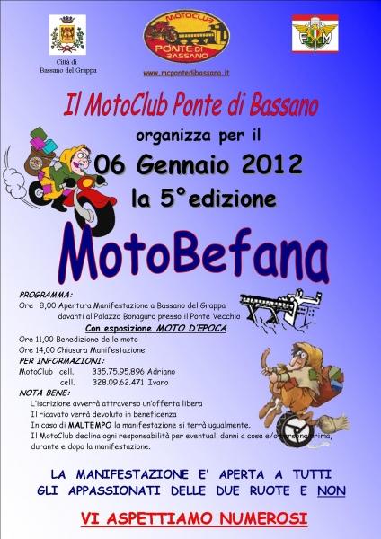 5° Edizione MotoBefana