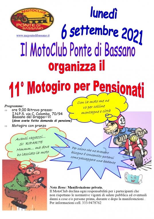 11° Edizione Motogiro Pensionati 2021