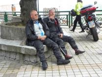 il riposo dei....motociclisti!!!