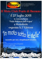 2° Ed. In Moto Sotto le Stelle 2013